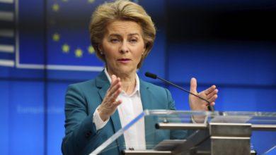 Photo of Ursula von der Leyen n'est pas de cet avis
