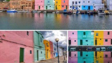 Photo of Le vieux port de Bizerte en couleurs