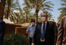 Photo of Habib Ammar en visite de travail à Tozeur