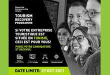 Photo of TOURISM RECOVERY PROGRAMME POUR CENT ENTREPRISES TOURISTIQUES